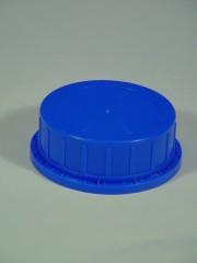 Verschluss DIN 80, PP, blau 90B,