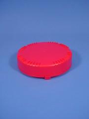 Verschluss DIN 90 OV 2C, PE, rot