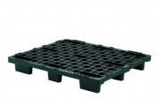 Palette Kufe 1000L/S, Reg, schwarz,